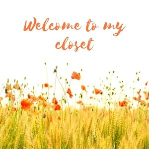 WELCOME TO MY CLOST.